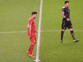 Emre Can In The Centre Circle v Rubin Kazan