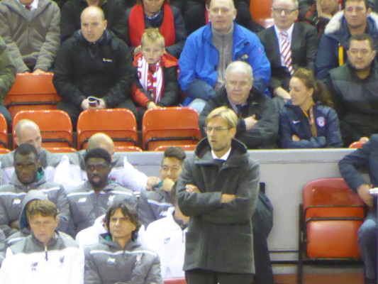 Klopp Watches On