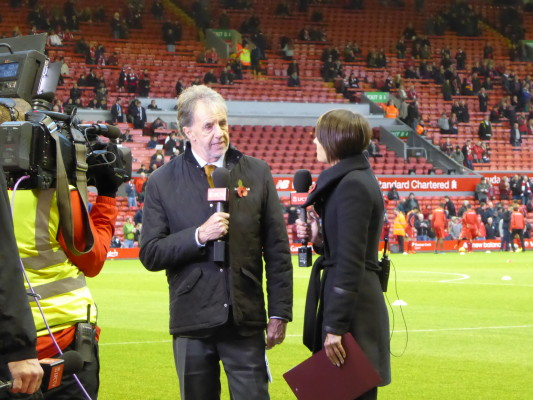 Mark Lawrenson Talks To Claire Rourke