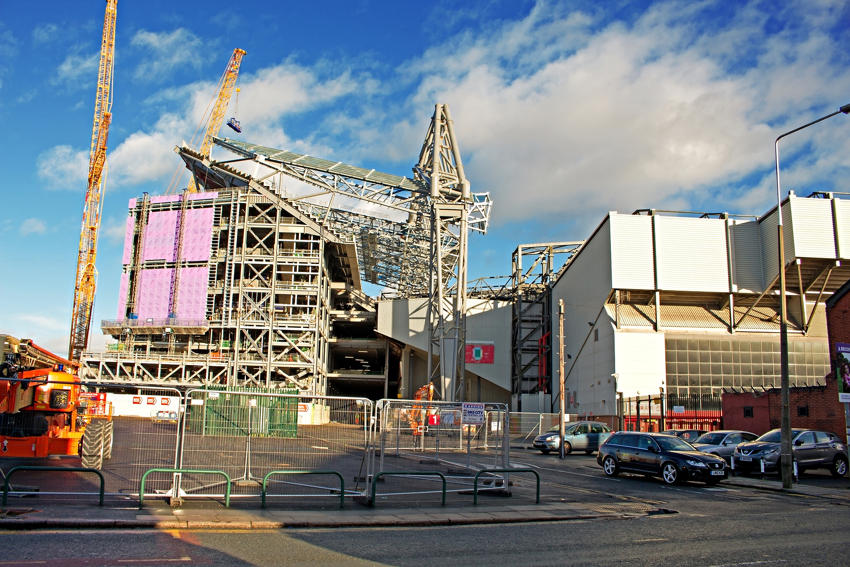 Anfield: New Main Stand
