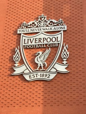 Liverpool Crest On Main Stand